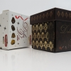 Коробка 9(h)x9x9 см.